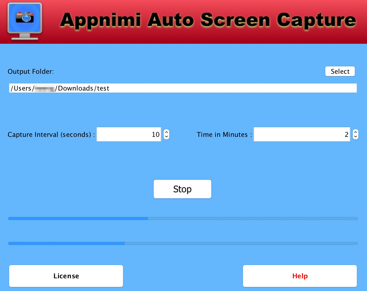 Appnimi Auto Screen Capture Win - Capturing Screenshots